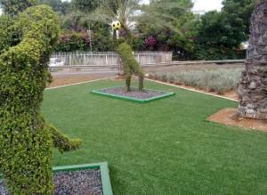 דשא סינטטי בוחרים ירוק